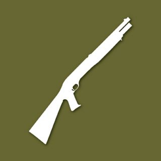 Benelli M1 Super 90 Shotgun Vinyl Decal Sticker VSBM1E