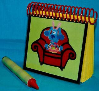 Newly listed Blues Clues Steves Handy Dandy Thinking Chair Notebook