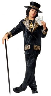 mac daddy pimp suit black leopard cheetah child costume more