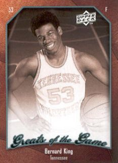 2009 10 Greats of The Game 55 Bernard King