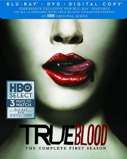 True Blood   The Complete First Season Blu ray Disc, 2012