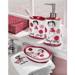 Betty Boop Bathroom Accessories Choose One Toothbrush Holder Soap Dish