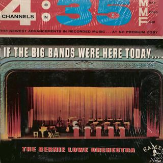 Bernie Lowe Orchestra If Big Bands Were Here Cameo LP