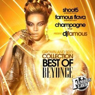 Beyonce Grown Sexy OFFICIAL Mixtape Album CD