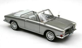 Neo Scale Models BMW Quandt Cabrio Bertone Silver 1 18