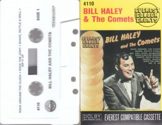 Bill Haley The Comets Cassette Tape Everest Records 4110 Golden Age