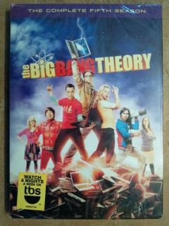 The Big Bang Theory Complete Fifth Season DVD Sets Brand New Factory