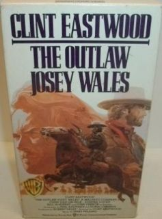 The Outlaw Josey Wales VHS Western Movie Tape Clint Eastwood