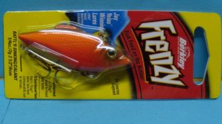 New Berkley Frenzy Lure RattR Sinking Burnt Orange 1 4 oz FR14 Bo
