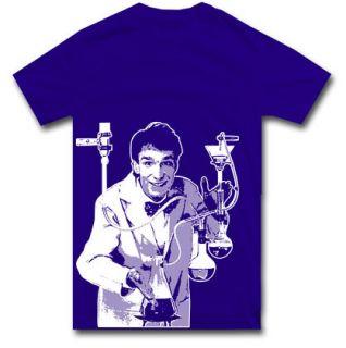 Bill Nye T Shirt Science Chemistry Physics s M L XL 2XL