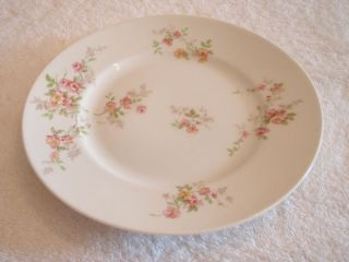 Antique Early 1900s Bernardaud B Co Limoges France Floral Pattern