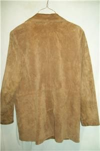 Bernardo  Pigskin Suede Leather Jacket XLarge