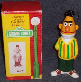 1976 Gorham SESAME STREET BERT FIGURINE W BOX