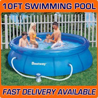 Bestway 10ft x 30 Fast Set Swimming Paddling Pool New