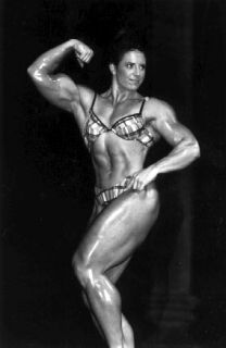 VHS WPW Female Bodybuilding Muscle Posing Flexing Working Out