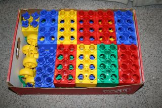Brik Blocks Giant Lego Style Big Lot 56 PC Set
