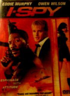 SPY (2002) Eddie Murphy Owen Wilson Famke Janssen Malcolm McDowell