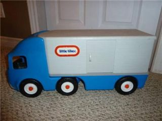 Big Rig 18 Wheeler SEMI Tractor Trailer Truck Hauler Ride On Toy NR