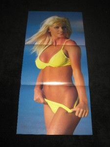 Sided Stacy Carter The Kat 10 x 24 Poster Diva Bikini WWF