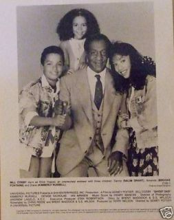 Ghost Dad with Bill Cosby and His 3 Children for Film