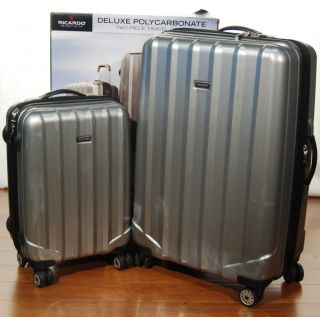 Ricardo Beverly Hills Light Weight Polycarbonate 2 Piece Suitcase Set