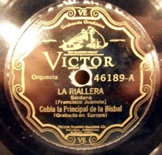 COBLA LA PRINCIPAL DE LA BISBAL LA RIALLERA CANTANT LA FESTA ARGENTINA