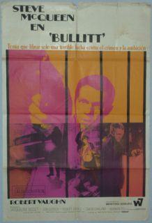 Bullitt Steve McQueen Robert Vaughn Jacqueline Bisset ME14