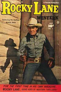 Assorted Golden Age Cowboy Set Comics Books on DVD TV Western Durango