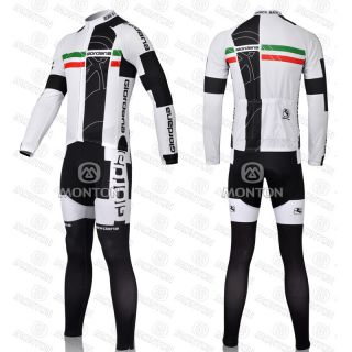 New Bicycle Bike Clothing Cycling Team Suit Long Sleeved Jersey Pants