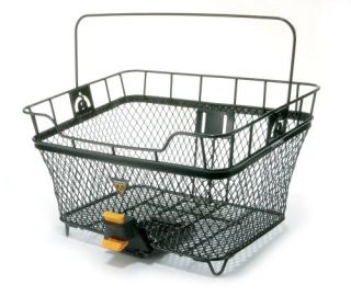 features of topeak mtx rear bicycle basket 1600 g 3 53 lbs welded