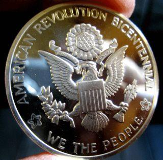 American Revolution Bicentennial Commemorative Medal Proof Coin