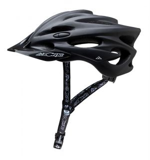 azonic exile helmet flat black bicycle mountain bike helmet