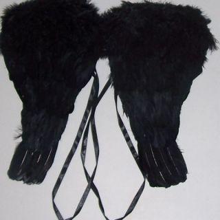 Black Angel Wings 14 with Feathers Halloween Fallen Dark Costume Child