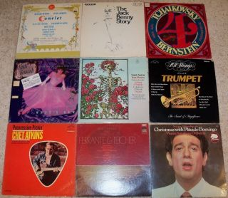 36 Records, Albums, Classical, Orchestra, Big Band, Symphony Lot