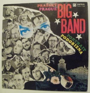 Prague Big Band Portrait Milan Svoboda RARE Killer Jazz Funk LP