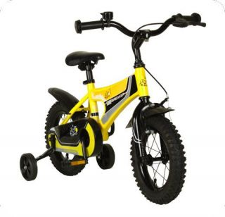 12 inch Kids Boys Training Wheels Beginner Bike Bicycle