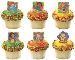 Cupcake Picks Food Decorations PBS Birthday Party Supplies Kids