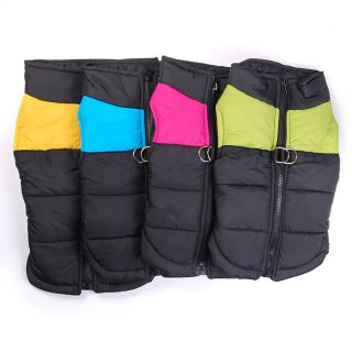Wholesale Dog clothes for large big dog Winter Vest Dog clothing