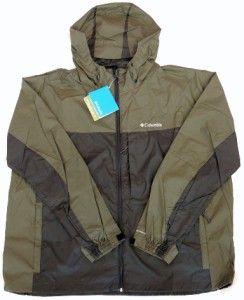 Columbia Sportswear Big Creek Falls Rainshell Jacket Big Tall Men 4X