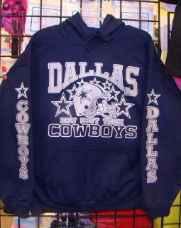 Dallas Cowboys Navy Blue Sweatshirt Hoodie s M L XL 2XL 3XL 4XL 5XL