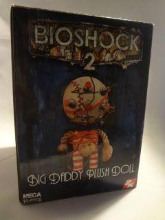 BioShock 2 Big Daddy Plush Doll Figure Little Sister NECA RARE Hard To