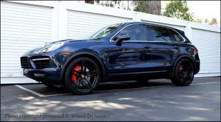 Porsche Cayenne 22 Wheels R 55 Rims Bolts Panamera Turbo s Concave