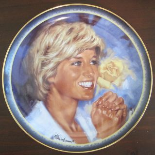 Princess Diana Celebration of Life Plate by Islandia Limited Edition