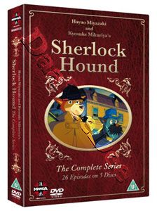 Sherlock Hound Entire Series New PAL 5 DVD Set Japan