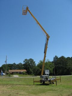 Bil JAX Workforce 47 Towable Boom Lift