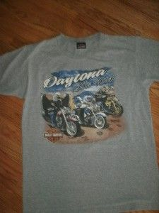 Mens Harley Davidson T Shirt Size Large Daytona Bike Week New Smyrna