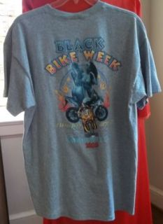 Black Bike Week T Shirt 2XL Myrtle Beach SC Motorcycle Atlantic Beach