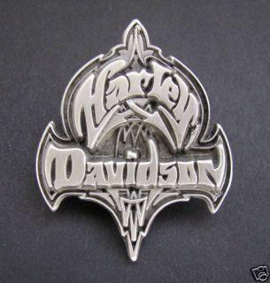 Harley Davidson Tribal H D Motorcycle Biker Vest Pin