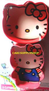 Hello Kitty Cookie Birthday Cake Deco Fondant Cutter NW