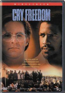 Cry Freedom New SEALED DVD Denzel Washington Kevin Kline